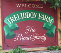 Treliddon Farm Sign