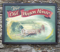 Old Wagonhouse Sign